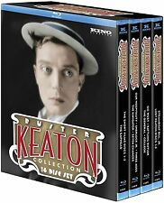 THE ULTIMATE BUSTER KEATON COLLECTION Blu-Ray Box Set SHERLOCK STEAMBOAT BILL JR