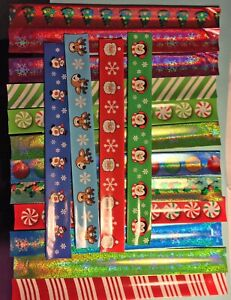 Gift Wrap keepers Christmas Lot of 6 keeps wrapping paper rolls neat  new