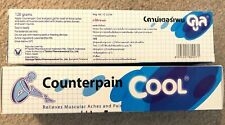 2x 120g COUNTERPAIN COOL ANALGESIC GEL RELIEVES MUSCULAR ACHES & PAIN