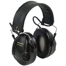 Peltor Tactical Sport Hearing Protector Foam 20dB NRR Black/Orange - 97451