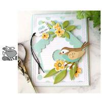 Stanzschablone Vogel Tier Hochzeit Weihnachten Oster Geburtstag Karte Album DIY