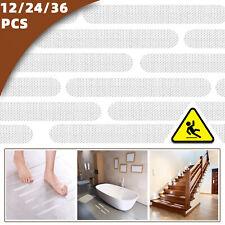 24Pc Bath Tub Shower Stickers Anti Slip Grip Strips Non-Slip Safety Floor Treads