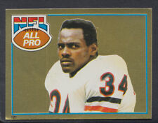 Topps 1981 American Football Sticker No 121 - Walter Payton   (T387)