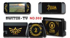 Nintendo Switch Console Joy-Con Skin Sticker Cover #302 Zelda a F01