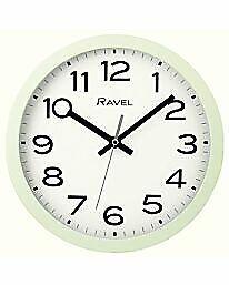 Ravel 25cm Time Teacher Wall Clock Kids Girls Boys Design