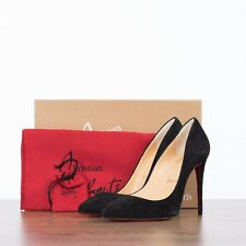 CHRISTIAN LOUBOUTIN 745$ PIGALLE FOLLIES 100 In Black Suede