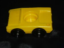 Fisher Price Little People Vintage Yellow Luggage Car #2581