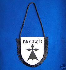 BREIZH: Mini-fanion BREIZH avec Hermine Bretonne Bretagne BZH Breton