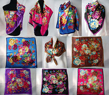 "*US SELLER* lot of 5 wholesale square scarf 39""x39"" head scarf bandana hijab"