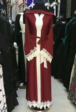 New open front abayas/dress/islamic wear/saudi women dress.size .58 only ---2017