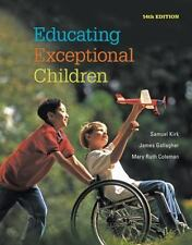 Educating Exceptional Children by Kirk, Samuel, Gallagher, James J, Coleman, Ma