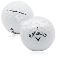 24 MINT Callaway Chrome Soft AAAAA Used Golf Balls