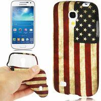Étui Coque USA Drapeau Protection Pour Téléphone Samsung Galaxy S4 Mini i9190