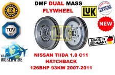 FOR NISSAN TIIDA 1.8 C11 HATCHBACK 126BHP 2007-2011 NEW DUAL MASS DMF FLYWHEEL