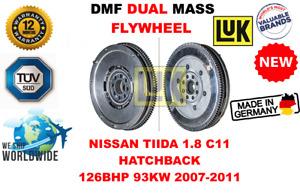 FOR NISSAN TIIDA 1.8 C11 HATCHBACK 126BHP 2007-2011 NEW DUAL MASS DMF FLYWHEEL