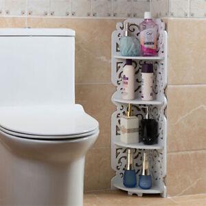 DIY Triangular Shower Shelf Bathroom Corner Bath Rack Storage Holder Organizer