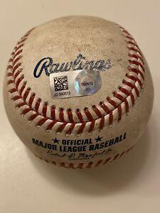 MLB Authenticated-Javier Baez RBI TRIPLE To Nicholas Castellanos Off Tyler Mahle