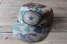 Vintage Distressed Vietnam Veterans Memorial Snapback Hat