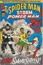 Amazing Spiderman Giveaway Promo Storm Powerman Smokescreen Vg Variant 1996