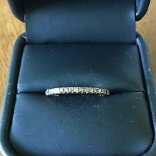 LeVian 1/4 ctw Pave Chocolate Diamond 14k Solid Yellow Gold Ring/Anniv Band