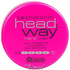 Hard Wax Head.Way 125ml Biacrè ® TecnoForm Water soluble modelling natural hold