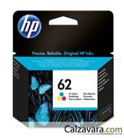 HP CARTUCCIA ORIGINALE COLORI 62