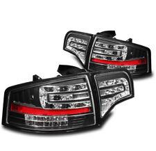 2005-2008 AUDI A4 / S4 B7 4DR SEDAN BLACK ALTEZZA LED REAR TAIL BRAKE LIGHTS L+R