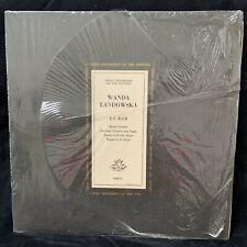 BACH Italian Concerto & works - WANDA LANDOWSKA - ANGEL COLH 71 - LP in shrink