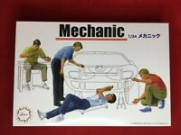 Fujimi Model 1/24 Garage & Tool Series No.3 Mechanic Plastic Model GT-3