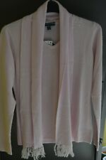 Karen Scott with Detachable Scarf Sweater in Ice Pink, Size L