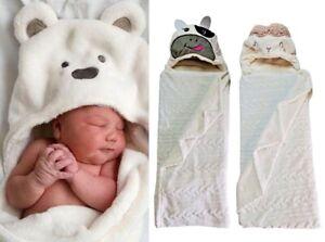 Baby Boy Girl Soft Fleece Blanket Newborn Pram Car Crib Moses Basket Gift UK