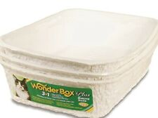 Cat Litter Boxes, Disposable Litter Boxes, Hassle-Free Clean-Up, 3-Count