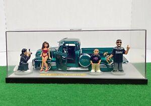 Vintage Jada Toys '51 Chevy Pickup Lowrider Homie's 1/24 DieCast Rare