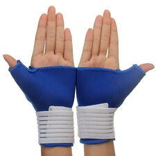 2Pcs Thumb Wrap Hand Wrist Palm Splint Support Gloves Brace Serviceable Good DIS