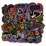 50PCS Mixed Vinyl Decal Graffiti Sticker Bomb Laptop Waterproof Stickers Skate~