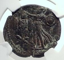 DOMITIAN Authentic Ancient JUDAEA CAPTA Caesarea Maritima Roman Coin NGC i77343