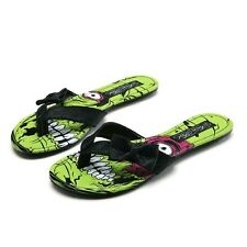 New Iron Fist  women's Zombie Stomper flat thong Sandals Shoes Size 37 US 6