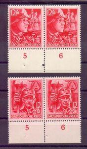 Deutsches Reich 1945 - MiNr 909/910 postfrisch im Paar - Michel 160,00 € (912)