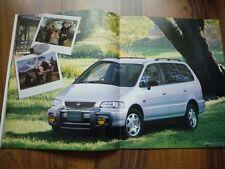 2 x HONDA Odyssey Brochure 1995 JDM Exclusive F22B RA1 RA2 4WD Shuttle ホンダ オデッセイ