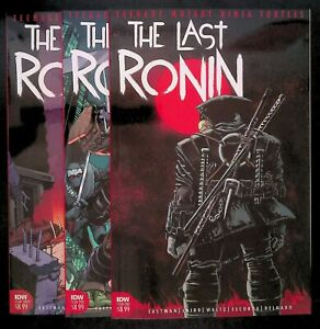 The Last Ronin #1-3 (2020) IDW TMNT Eastman Laird last surviving turtle future