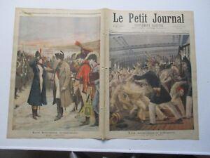 Le petit journal 1894 199 anarchistes + marie schellinck napoléon