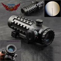 4x28EG Reticle Optical Rifle scope Sight Adjustable fit 20mm/11mm Picatinny Rail