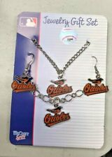 ORIOLES Wincraft  MLB Licensed Jewelry Gift Set Necklace Braclet Earrings