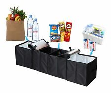 Car Trunk Organizer Storage Box Folding Grocery Cooling Insulation Bag Cargo New