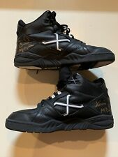 Xavier McDaniel Game Used Worn Signed Xanthus Shoes Sneakers JSA Celtics