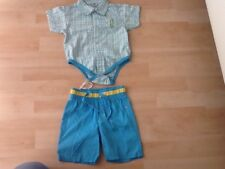 Baby Jungen Sommerset 2Tlg.Set Shorts+Hemd/Body Gr.74 Sommer Super Zustand!!!