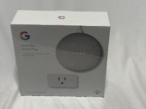 NEW Google Nest Mini + Smart Plug 2nd Generation