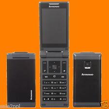 Lenovo MA388 0.3MP FM BT LED Dual SIM Standby 2G EDGE Dualband Flip Mobile Phone