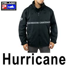MEN'S PELAGIC HURRICANE JACKET HOODED WATERPROOF OFF SHORE FULL ZIP SMALL $150