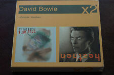 David Bowie Heathen Outside Double Pack Edition Carded Sleeve MINT Discs